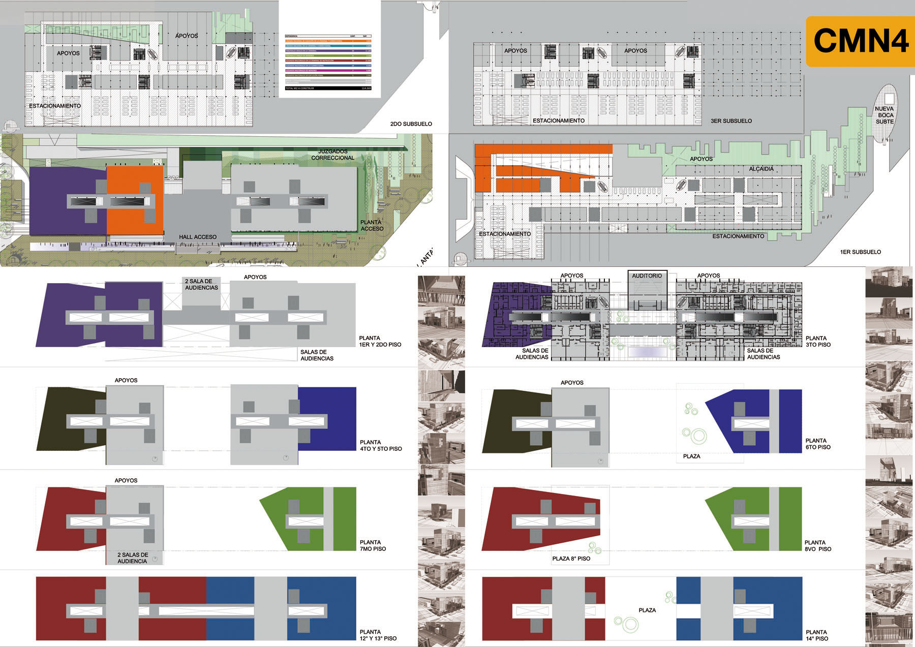 Cmn ampliacion y refuncionalizacion del edificio for Memoria descriptiva arquitectura